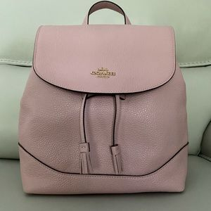 NWT Coach Pink Leather Backpack